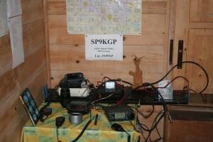 Ryjek w siedzibie Klubu SP9KGP