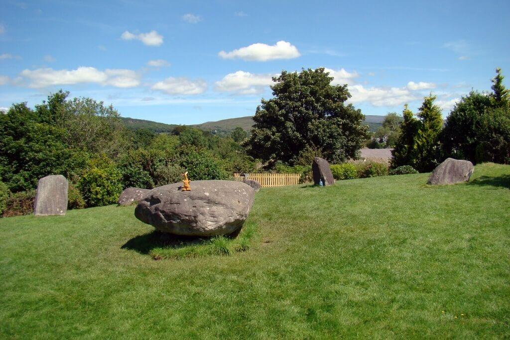 Krąg kamienny w Kamienny krąg w okolicach Kenmare (irl. An Néidín)