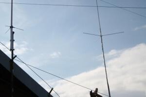 Pierwsze anteny klubowe na Luboniu Wielkim