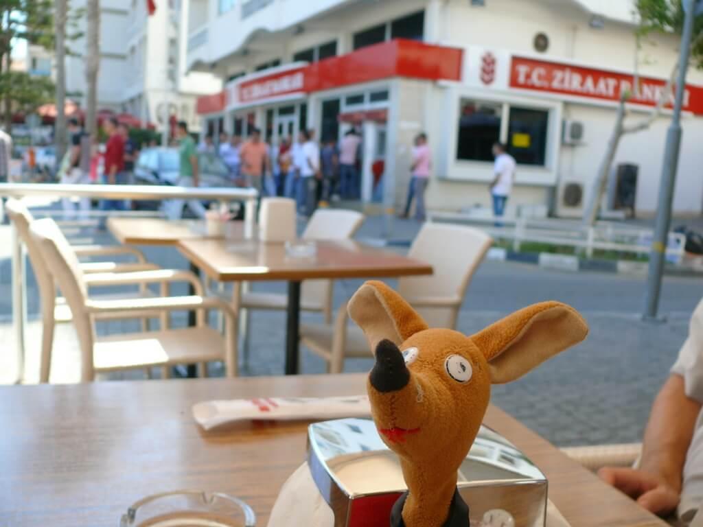 Śniadanie w Girne (Kirenia) na Cyprze Północnym