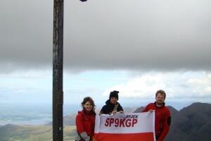 Zdobywcy najwyższego szczytu Irlandii - Carrantuohill