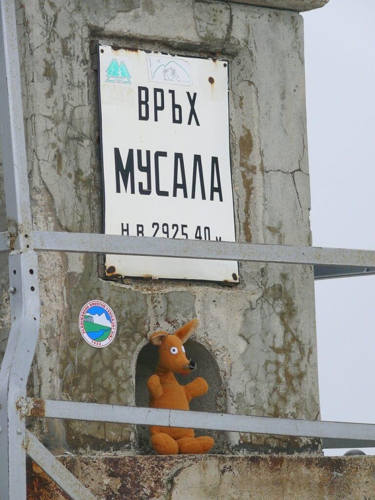 Najwyższy Szczyt Bułgarii - Musała 2925 m n.p.m.