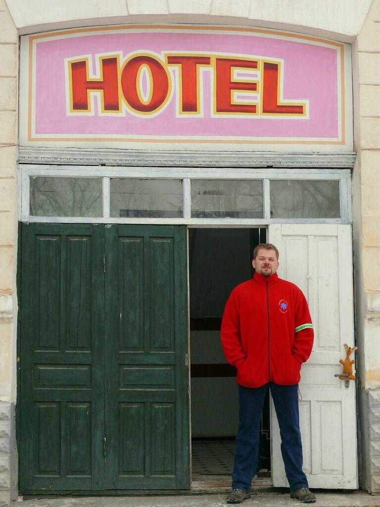 Hotel wojskowy w Balti