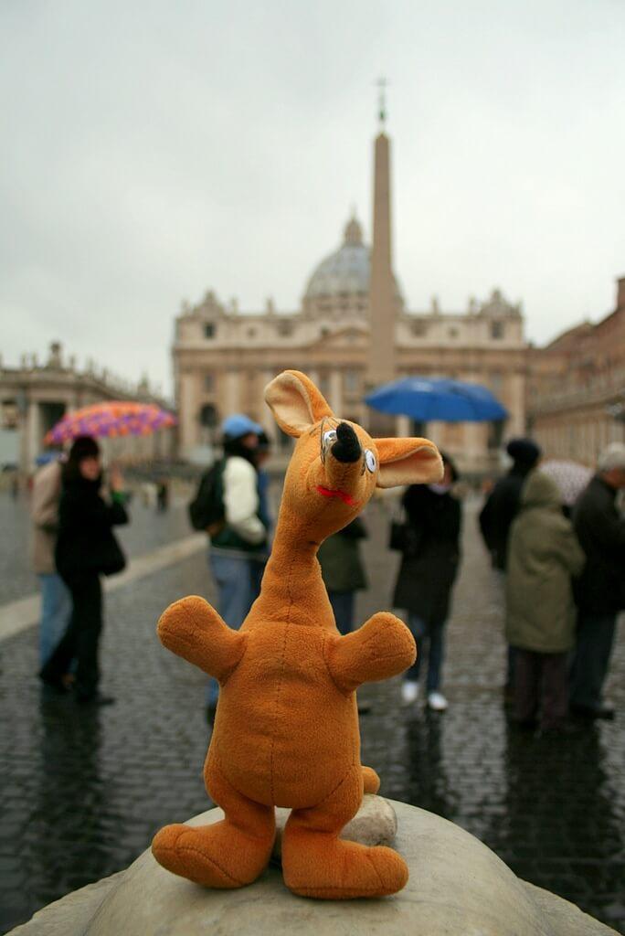 Watykan - Plac Świętego Piotra