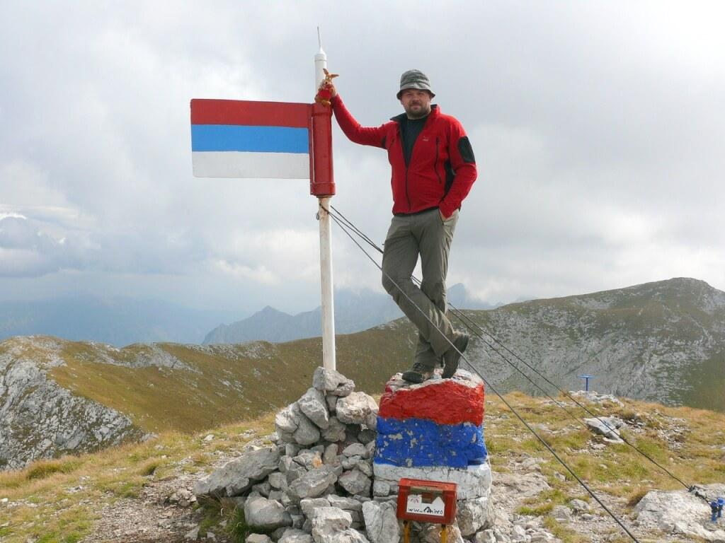 Ryjek na Maglić w Bośni i Hercegowinie