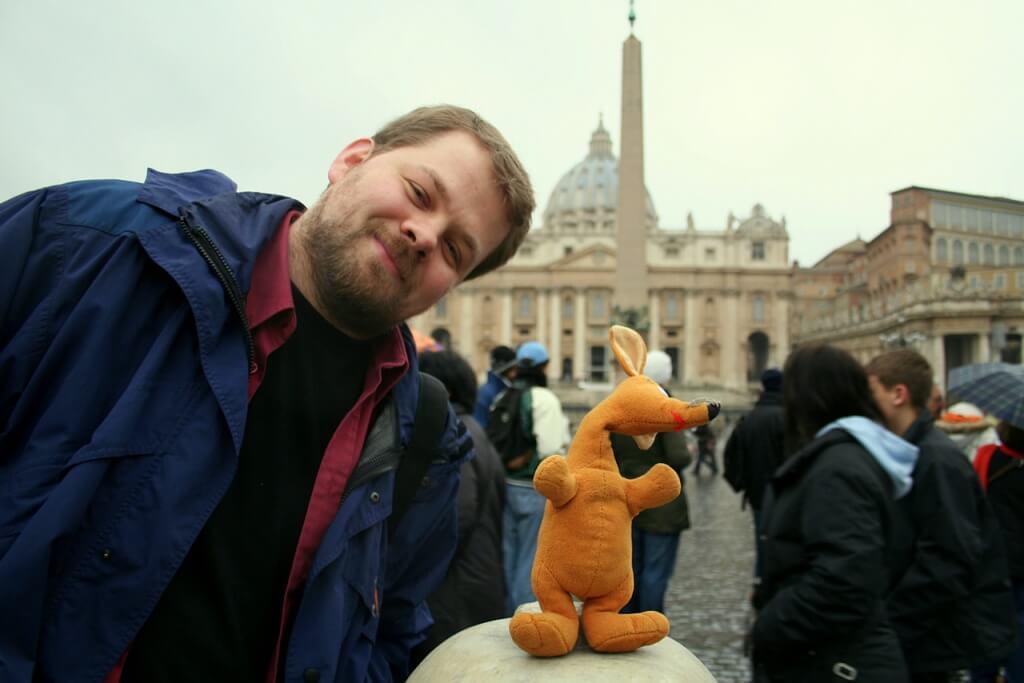 Ryjek w Watykanie