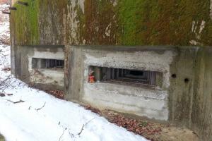 Ryjek w schronie linii Mołotowa - schron dla dowódcy
