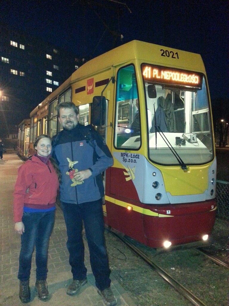 Ryjek i krańcówka tramwaju 41