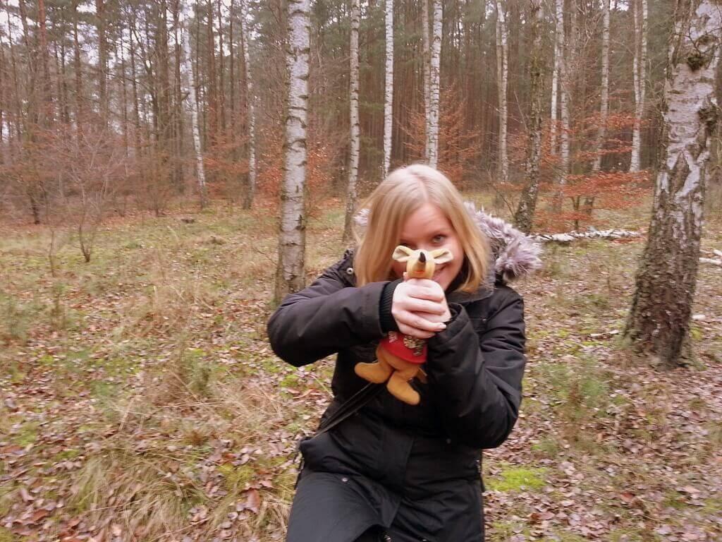 Ryjek i nati przy poszukiwaniu Wikingów