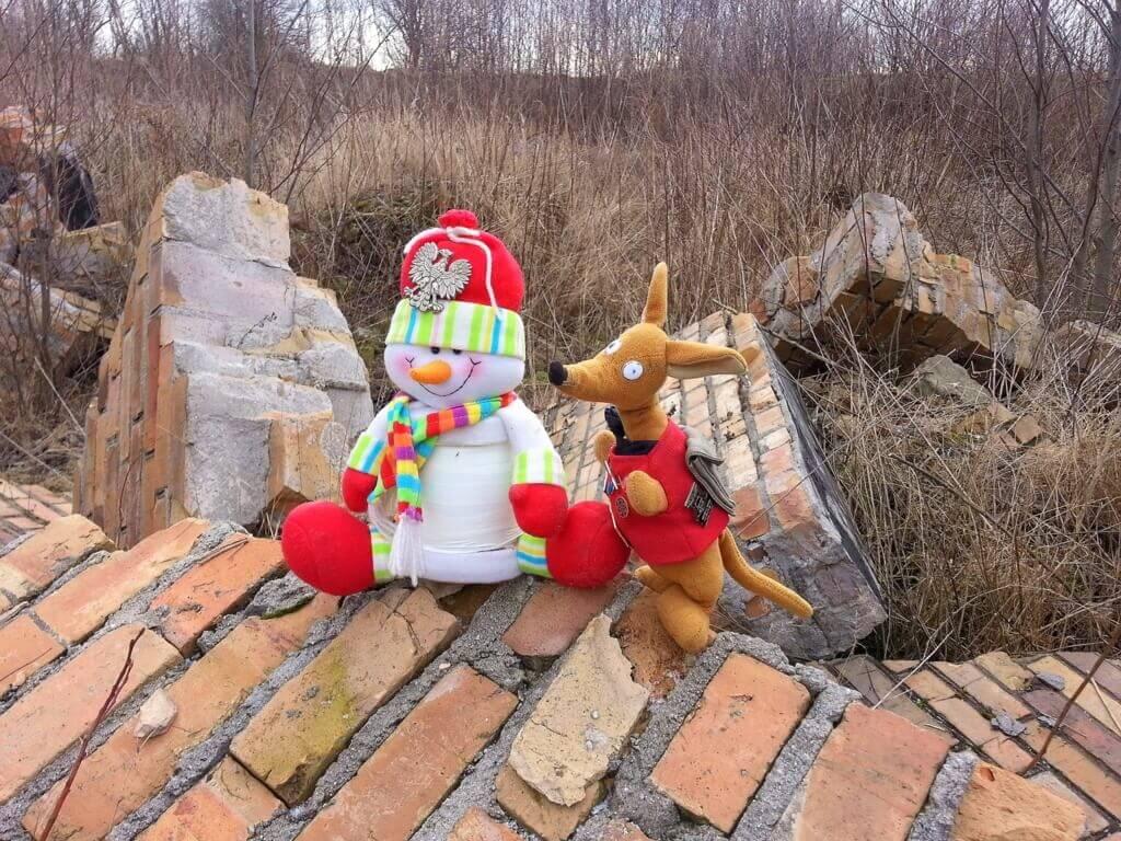 Ryjek i szeregowy Snowman